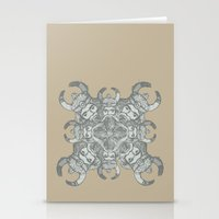 demon Stationery Cards featuring Demon by Sandeep Barot