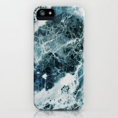 Blue Sea Marble Slim Case iPhone (5, 5s)