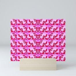 Pure Pink Panther Paws Mini Art Print