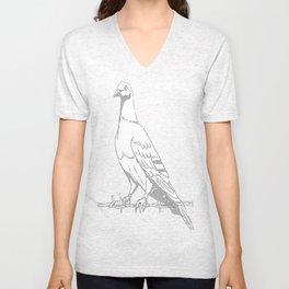 Friedenstaube,Dove of Peace Unisex V-Neck