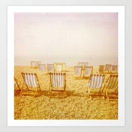 A New Beach Day Art Print