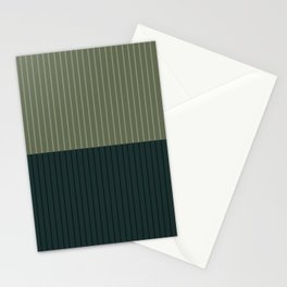 Color Block Lines XXXIX Stationery Cards