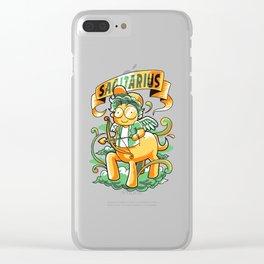 Sagitarius Clear iPhone Case