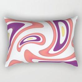 Bright abstraction. Rectangular Pillow