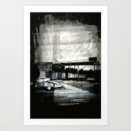 Jane Says Art Print