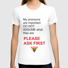 ASK PLEASE T-shirt
