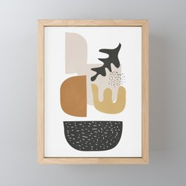 Abstract Shapes  2 Framed Mini Art Print