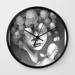 FRAGILE 3# Wall Clock