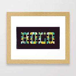 Hola 2 Framed Art Print