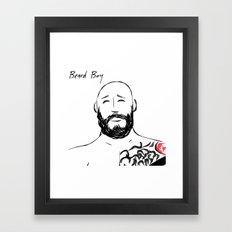 Beard Boy Tattoo 5 Framed Art Print