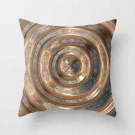 Space Swirl no1 Throw Pillow