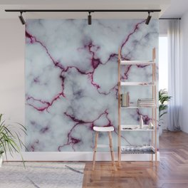 Blood Marble Wall Mural