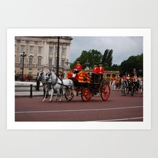 The Royal Carriage 11 Art Print