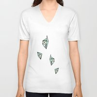 geo V-neck T-shirts featuring geo. by Gianna Caputo