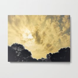 I Wandered Lonely as a Cloud Metal Print