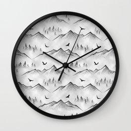 Eagle Mountain Wall Clock