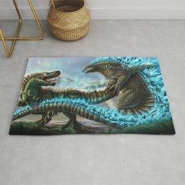 Godzilla VS. Atomic Rex Rug