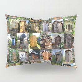 Outhouses Pillow Sham