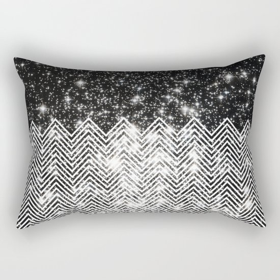 Chevron Universe Rectangular Pillow