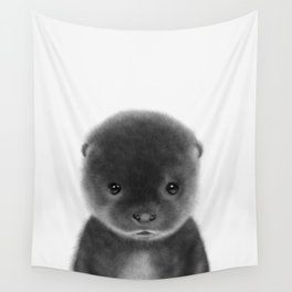 Cute Otter Wall Tapestry