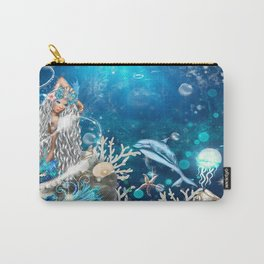 Enchanted Mermaid Sea Carry-All Pouch