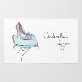 Cinderella slipper Rug
