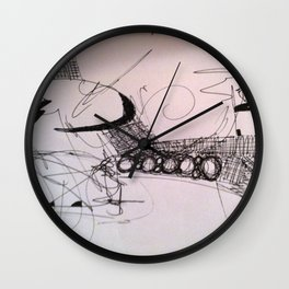 6/8/12 Wall Clock