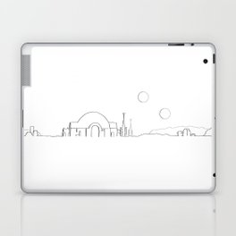 Movie Ink Locales - Tatooine Laptop & iPad Skin