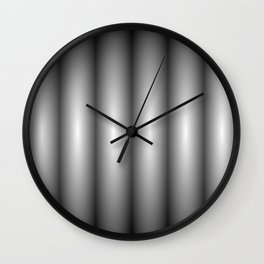 black contrast Wall Clock