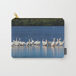 Feathered Festivities V Carry-All Pouch