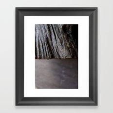 Sticks & Stones Framed Art Print