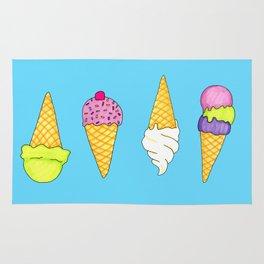 Ice cream (Sweets #4) Rug