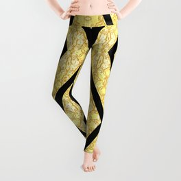 Imperial Triangles Yellow Leggings