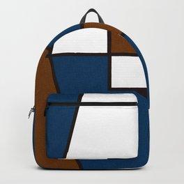 Color Block_Gentleman Backpack