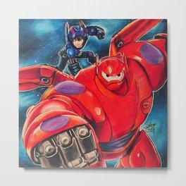 Big Hero 6 Metal Print