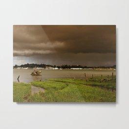 Storm Over Florence Metal Print