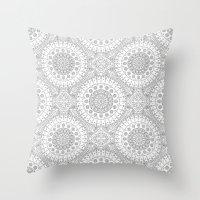 arab Throw Pillows featuring Arab by Sandra Kurasz