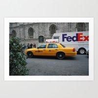 Classic NYC Art Print