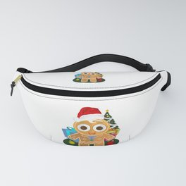 Christmas - Ginger Bread Man Fanny Pack