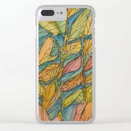 Eno River 23 (bottom portion) Clear iPhone Case