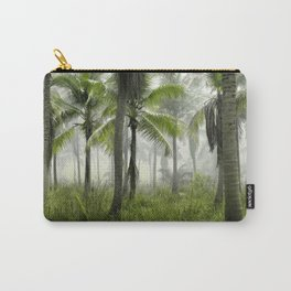Foggy Palm Forest Carry-All Pouch