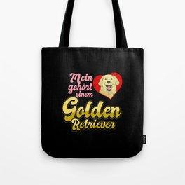Retriever Dog Pet Golden Retriever Tote Bag