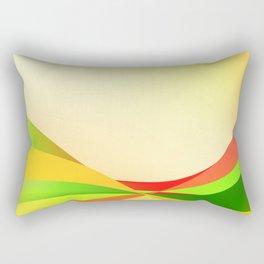 Happy abstract Rectangular Pillow