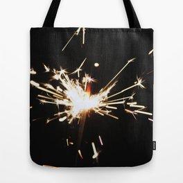 SPARKLE ON Tote Bag