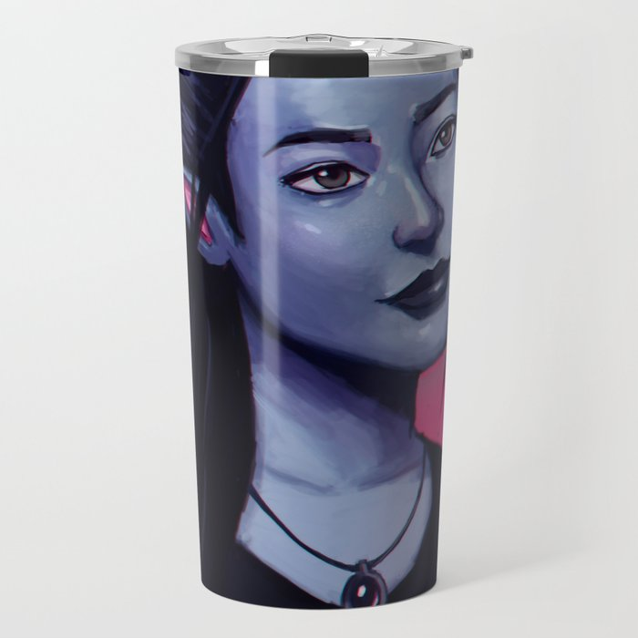 Portrit of Amara Travel Mug