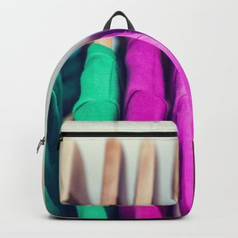Closet colorful clothes t-shirts clothing Backpack