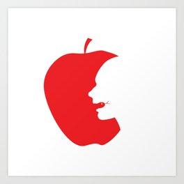 Apple and Eve Art Print