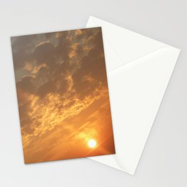 Sun in a corner Stationery Cards