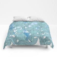 surfing 2 Comforters