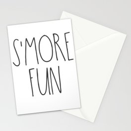 S'MORE FUN TEXT Stationery Cards